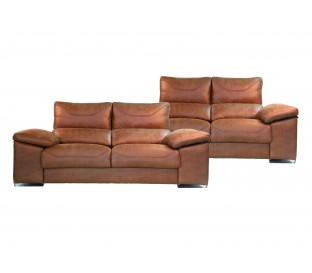 Conjunto  sofás 3+2.Gran calidad. Deslizante. Reclinable