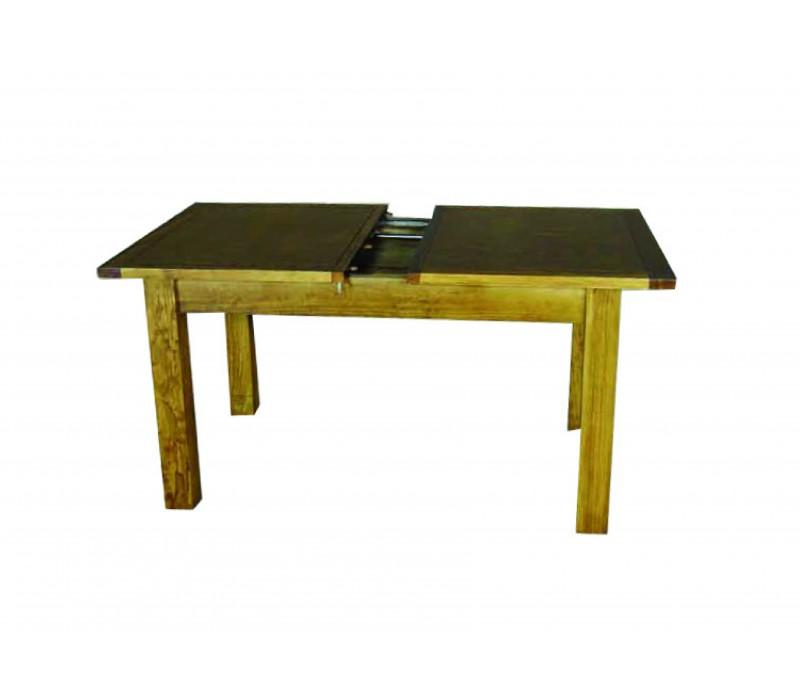 Mesa comedor extensible r stica 11 chollo mueble - Mesa comedor rustica extensible ...