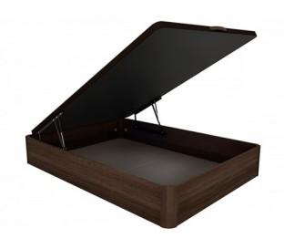 Canapé con base tapizada 3D. Sistema de desplazamiento opcional. Todas las medidas.