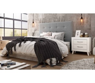 Dormitorio matrimonio nórdico